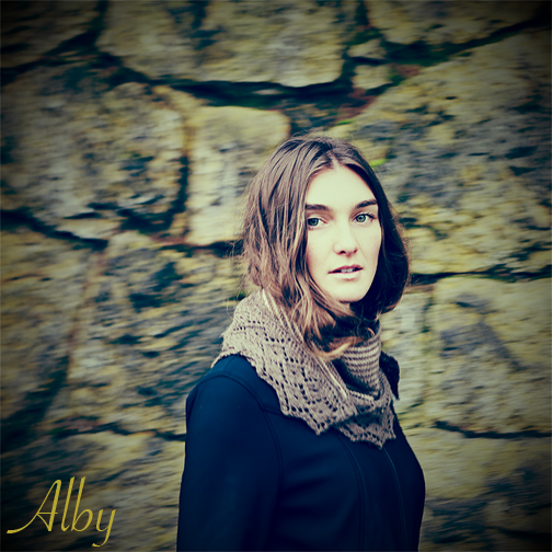 Chic Knits Alby Lace Shawl Knitting Pattern