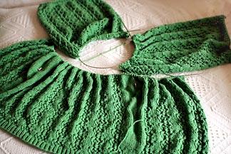 lace cardigan pattern